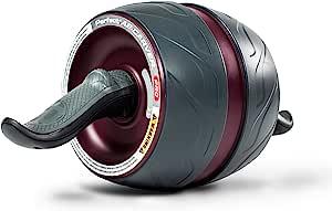 Perfect Fitness Ab Carver Pro 核心锻炼滚轮,红色