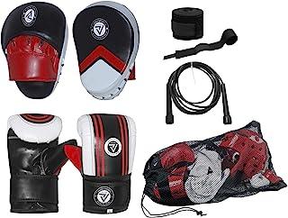 Go for it 拳击拳击衬垫聚焦衬垫套装含拳击手套 + 免费跳绳