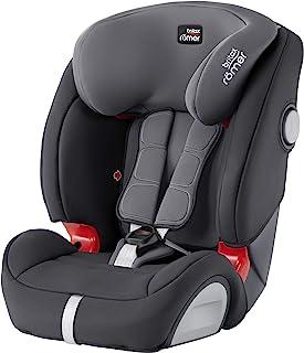 Britax 宝得适 Römer EVOLVA 123 SL SICT Isofix儿童汽车安全椅(9月-12岁/9-36kg) 1/2/3组别,风暴灰