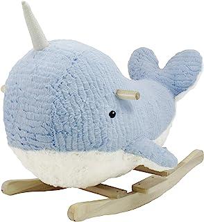 软着陆操纵杆,独角鲸角色摇椅