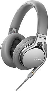 Sony 索尼 MDR-1AM2 耳机(高分辨率音频,节拍响应控制,超轻设计,含白色高品质音频线),银色