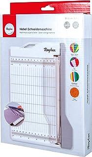 Rayher 29209000 杠杆切割机 A5,切割长度约为21.6厘米,SB盒,白色