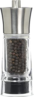 Cilio TopGourmet Genova 胡椒研磨器透明不锈钢14厘米
