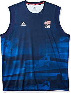 adidas 阿迪达斯男式美国排球运动衫 Primeblue