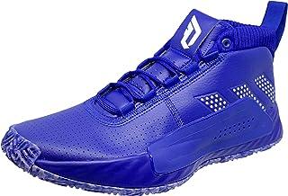 Adidas 男式 Dame 5 篮球鞋 Core Royal/White/Core Royal 14