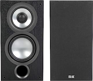 ELAC Uni-Fi 2.0 UB52 书架式扬声器(对),黑色(UB52-BK)
