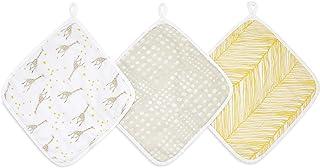 aden + anais 浴巾 | * 棉布浴巾 | 超柔软,3 件套,星星星