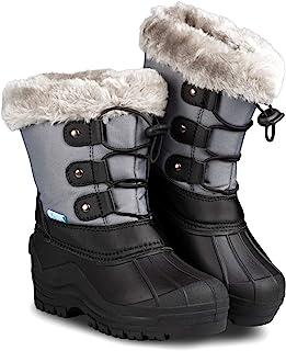 ZOOGS 儿童雪地靴,适合幼儿、男孩和女孩
