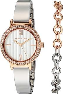 Anne Klein 正装手表(型号:AK/3733RTST)
