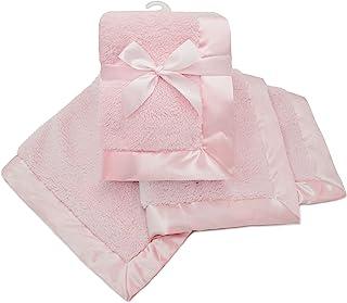 American Baby Company 羊羔绒裹毯,粉色,适合女孩
