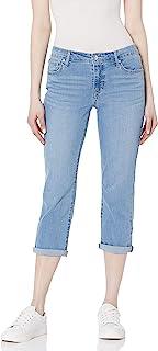 Vintage America Blues 女式复古卷边七分裤