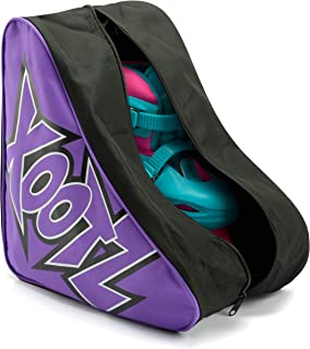 Xootz 滚轮滑冰手提袋 - 男女通用便携包 适合儿童和成人四轮滑冰
