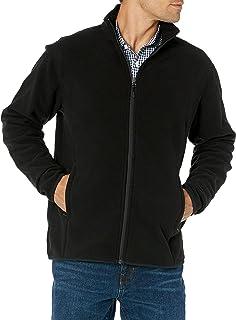 Amazon Essentials 男士 全拉链摇粒绒外套