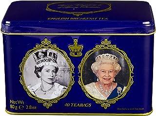 New English Teas Queen Elizabeth II 锡 80 克(40 茶包)