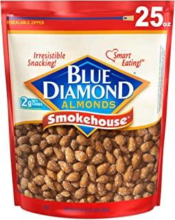 Blue Diamond Almonds 熏制杏仁,25盎司(709g)