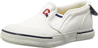 Carrot 懒人鞋 防溅水 4大功能 宽松 14-21厘米(有0.5厘米选项) 鞋宽2E 儿童 CR ST14 白色 18.0 cm 2E