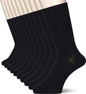 CECILE 男士 罗纹袜子 10双装 SM-894