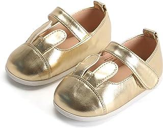 Bear Mall 女婴鞋软橡胶鞋底公主礼服鞋婴儿散步鞋(婴儿/幼儿)