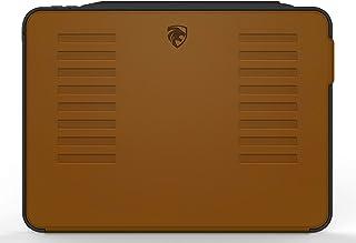 Muse 保护套 - 2018 iPad Pro 12.9 英寸(旧型号)- 非常保护但轻薄 + 方便的磁性支架 + */唤醒盖由 ZUGU CASE 出品(棕色)