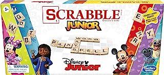 Hasbro 孩之宝 游戏拼字游戏,幼儿:迪士尼双面游戏板,匹配字游戏