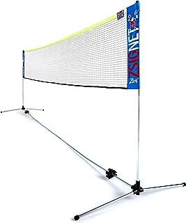 ZSIG 家用羽毛球网 - 14米便携网羽毛球/排球