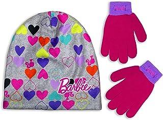 NENUKA *冬季无檐小便帽手套套装,适合幼儿女孩/小女孩