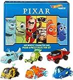 Hot Wheels 角色汽车 6 件装:迪士尼和皮克斯,6 1:64 车辆,适合收藏者和 3 岁及以上儿童使用