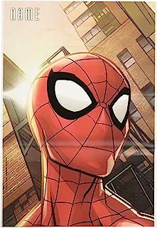 amscan 蜘蛛侠 网状 神奇折叠战利品袋,派对用品,多种颜色,(8 件装) (371860)
