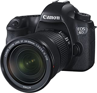 Canon EOS 6d 身体 20.2 万像素,黑色数码单反相机+ Canon EF 50 mm f/1.8 STM,镜头带固定焦距