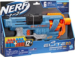 Hasbro 孩之宝 NERF热火 精英2.0 Comander RD-6 E9485 官方弹 12支