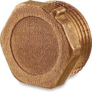 管帽 1.91 cm 公头 - 黄铜管帽 NPT 1.91 cm 公头