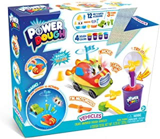 Canal Toys USA Ltd Power Dough 车辆大盒互动面团(20 件)