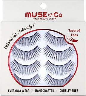 Muse&Co 多件装睫毛(4 双)- 惊艳