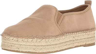 Sam Edelman 女式 Carrin 防水台帆布便鞋 一脚蹬运动鞋