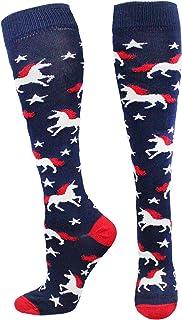 MadSportsStuff USA Unicorn 小腿袜