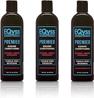 (3 只装) EQyss 高级宠物护发素,每只 16 盎司