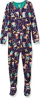 The Children's Place 男孩婴儿和幼儿猴子舒适棉质连体睡衣