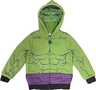 Marvel The Incredible Hulk 男童夏尔巴羊毛连帽衫