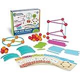 "Learning Resources 探索形状 拼接玩具 海洋""和几何构建组合套装"