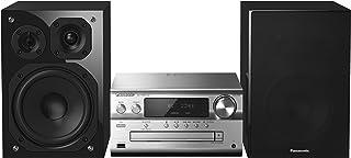 松下 SC-PMX152EGS HiFi 系统(120W RMS,100kHz 超音音绕器,蓝牙,Airplay,收音机)银色