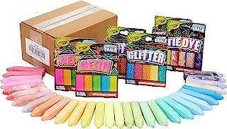 Crayola Sidewalk 粉笔特别效果套装,户外玩具,30 支装,儿童礼物,4 5,6,7