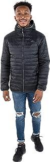 Trespass 男士 Dunbar 超轻保暖 Downtouch 加厚冬季夹克带帽