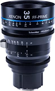 Schneider-Kreuznach 1085547 Cine镜头,FF-Prime T2.1/35 毫米,Sony 索尼 E/m,黑色