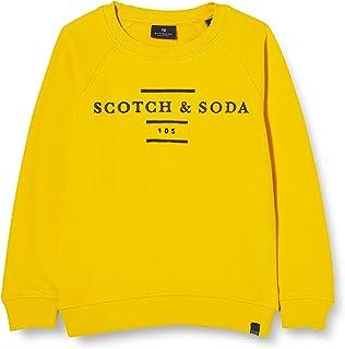 Scotch & Soda 男孩圆领运动衫