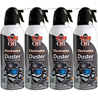 Falcon Compressed Gas (152a) Disposable Cleaning Duster 4 Co…