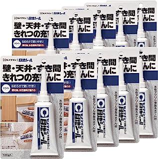 Cemedine 缝隙、干净用充足 护目贴纸 100克 白色 HJ-137 HJ-137 10