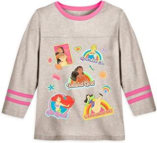 Disney Princess 女童长袖足球 T 恤