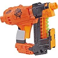 Hasbro 孩之宝 Nerf 热火 Nailbiter Zombie Strike 冲击波玩具枪– 8枚正式的Zomb…