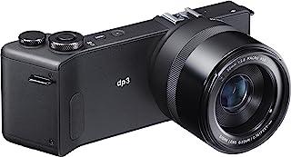 Sigma dp3 Quattro 数码相机(3900万像素,7.6厘米(3英寸)显示屏,SD插槽,USB 2.0)黑色