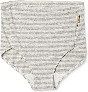 犬印本铺 腰部舒适孕妇内裤 条纹图案 SH2484 灰色 LL